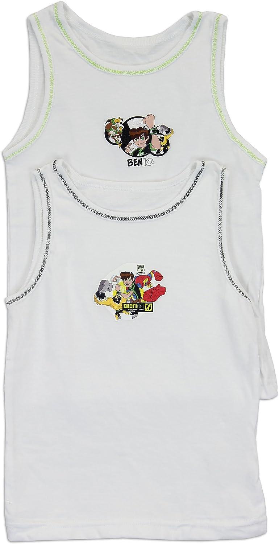 Ben 10 Omniverse Little Boys 4 Pack Vests