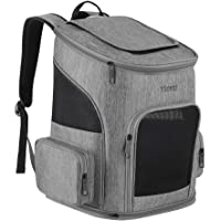 Ytonet Dog Backpack Carrier, Dog Carrier Backpack for Small Dogs Cats, Ventilated Design Breathable Pet Carrier Backpack Cat Bag for Travel Hiking Camping Outdoor Use