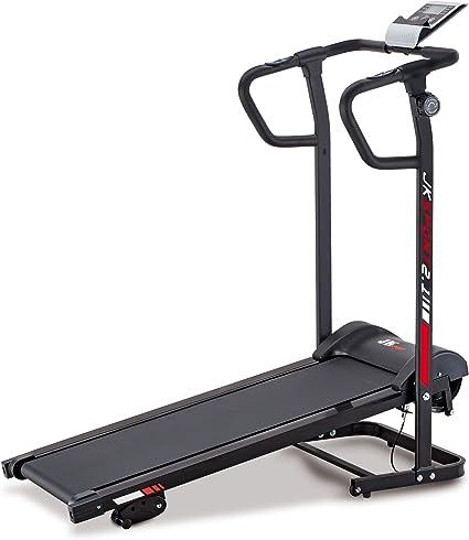 Jk Fitness JK2.1 - Cinta de correr magnética, Unisex Adulto, Negro ...