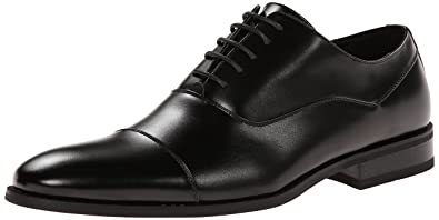 Kenneth Cole Unlisted Men's Half Time Oxford, Black, ...