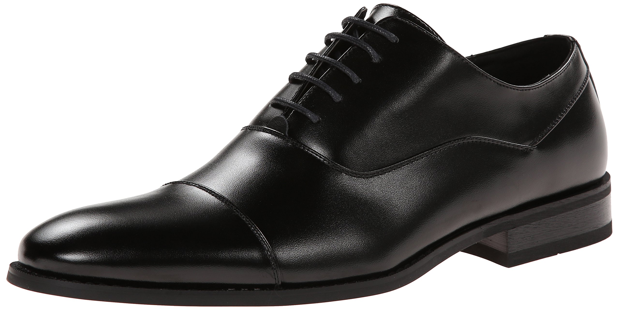 Kenneth Cole Unlisted Men's Half Time Oxford, Black, 10.5 M US