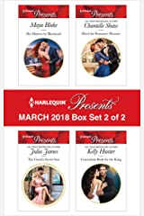 Harlequin Presents March 2018 - Box Set 2 of 2: His Mistress by Blackmail\The Greek's Secret Son\Hired for Romano's Pleasure\Convenient Bride for the King