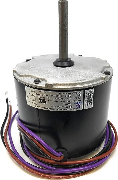 A4148, Goodman Condenser Fan Motor 0131M00061SP, 1/4HP, 830RPM