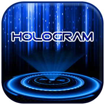 Amazoncom Blue 3d Tech Hologram Theme Appstore For Android
