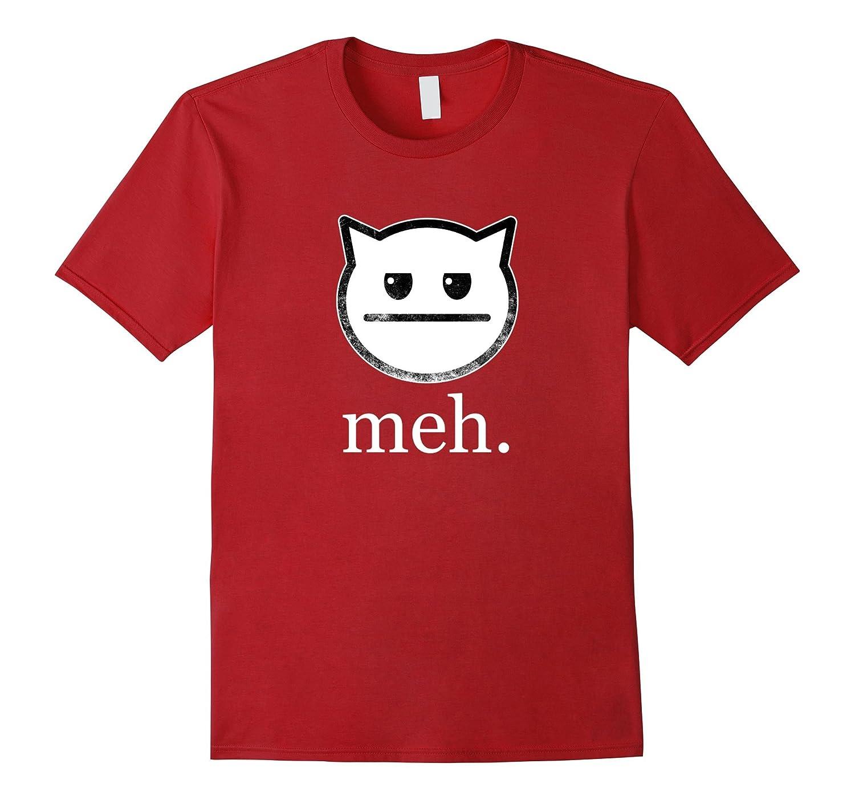 51b71fd4 Meh Funny Cat T-Shirt-RT – Rateeshirt