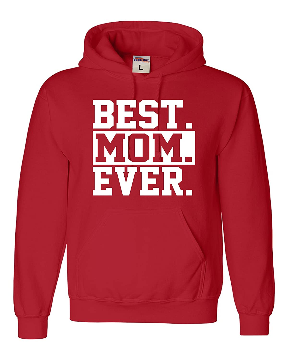 Adult Best Mom Ever #1 Mom World's Best Mom Mother's Day Sweatshirt Hoodie