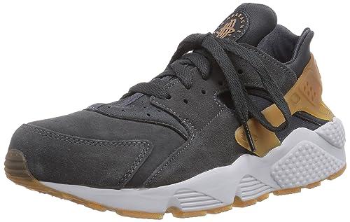competitive price f10cd 91503 Nike Air Huarache - Zapatillas de Piel para Hombre Gris Grau (Anthracite Gm  MD Brwn-Pr Pltnm) 43  Amazon.es  Zapatos y complementos