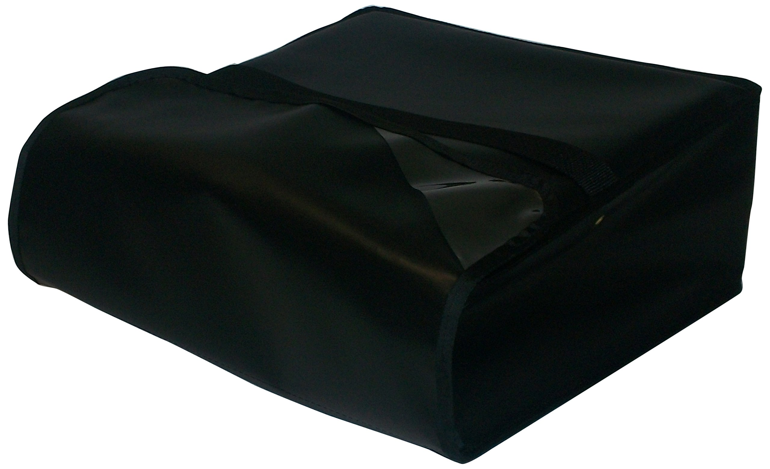 TCB Insulated Bags PK-322-Black Insulated Pizza Delivery Bag, Holds 3 Each 20'' Pizzas, 22'' x 22'' x 7'', Black