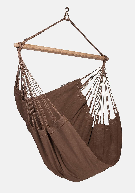 LA SIESTA Modesta Arabica – Organic Cotton Basic Hammock Swing Chair
