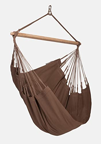 LA SIESTA Modesta Arabica – Organic Cotton Basic Hammock Chair
