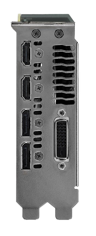 ASUS GeForce GTX 1070 8GB Turbo Edition 4K /& VR Ready Dual HDMI 2.0 DP 1.4 Auto-Extreme Graphics Card Turbo-GTX1070-8G