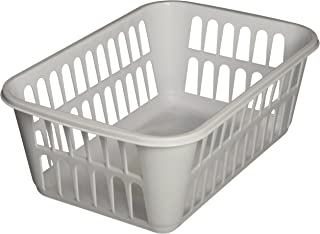 product image for Sterilite Medium Plastic Basket, White, Pack of 12