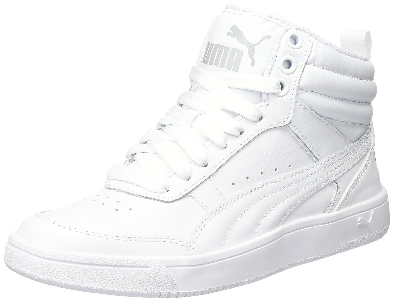 later presenteren kind Puma Rebound Street v2 L Jr White-P: Amazon.in: Shoes & Handbags
