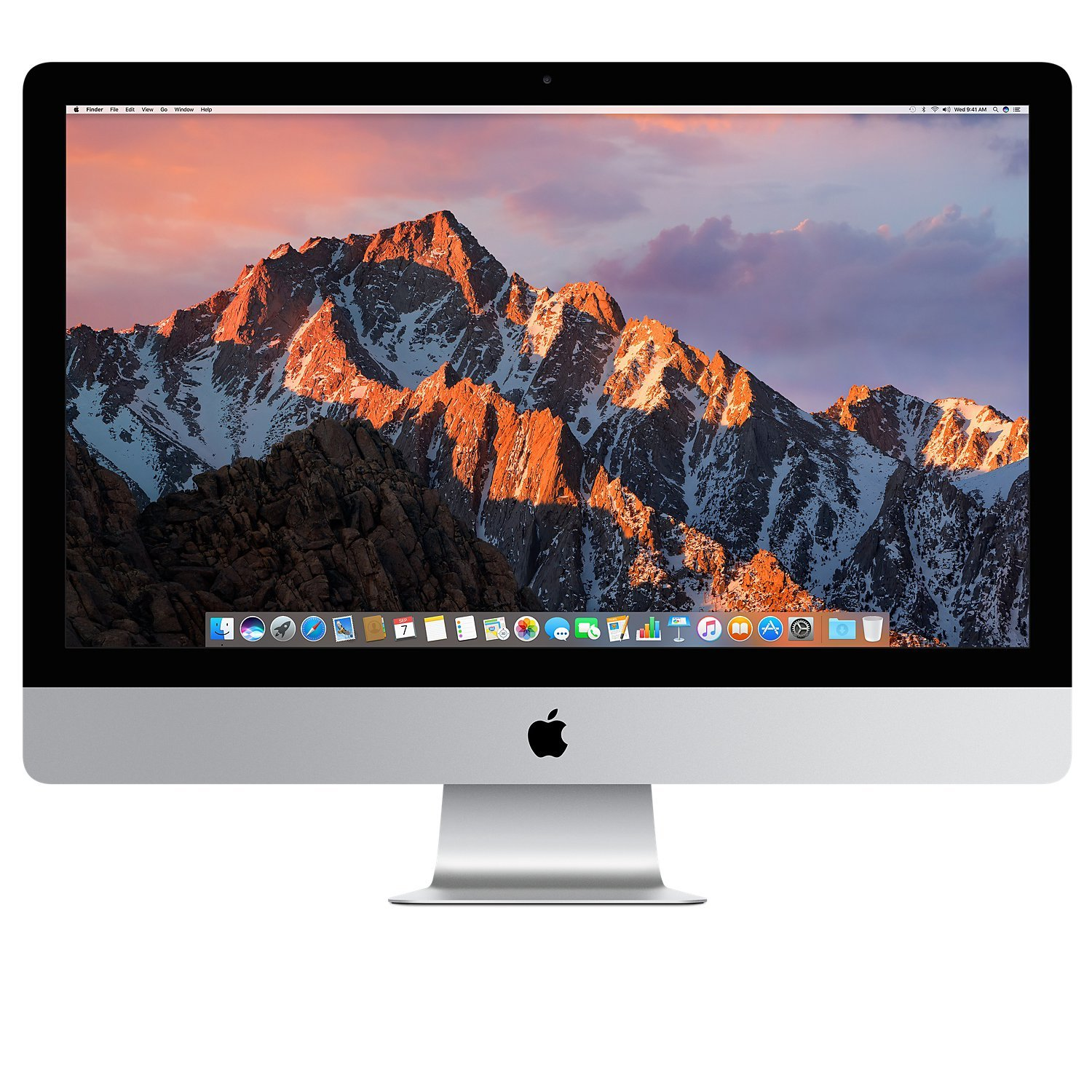 Apple iMac 27'' Desktop with Retina 5K Display (Mid 2017) - 4.2GHz Quad-Core Intel Core 7th-gen i7, 1TB SSD, 64GB 2400MHz DDR4 Memory, 8GB Radeon Pro 580 Graphics, macOS, Magic Keyboard - Spanish by Apple (Image #1)