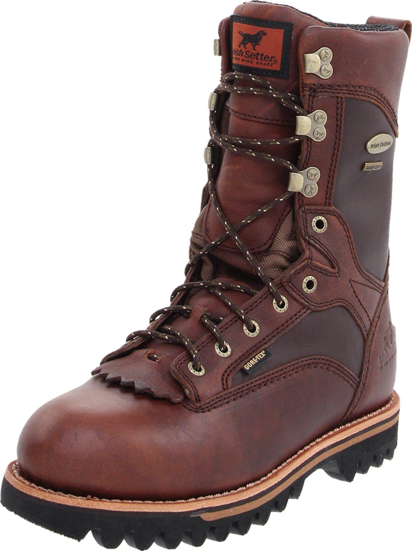 Irish Setter Men's 882 Elk Tracker Waterproof 600 Gram 12'' Big Game Hunting Boot,Brown,9 D US