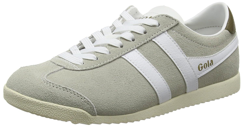 Gola Women's Bullet Suede Fashion Sneaker B018G13DU8 7 B(M) US|Off White/White Suede