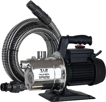 T.I.P. 30094 Bomba para jardín Cleanjet 1000 Plus con kit: Amazon.es: Bricolaje y herramientas