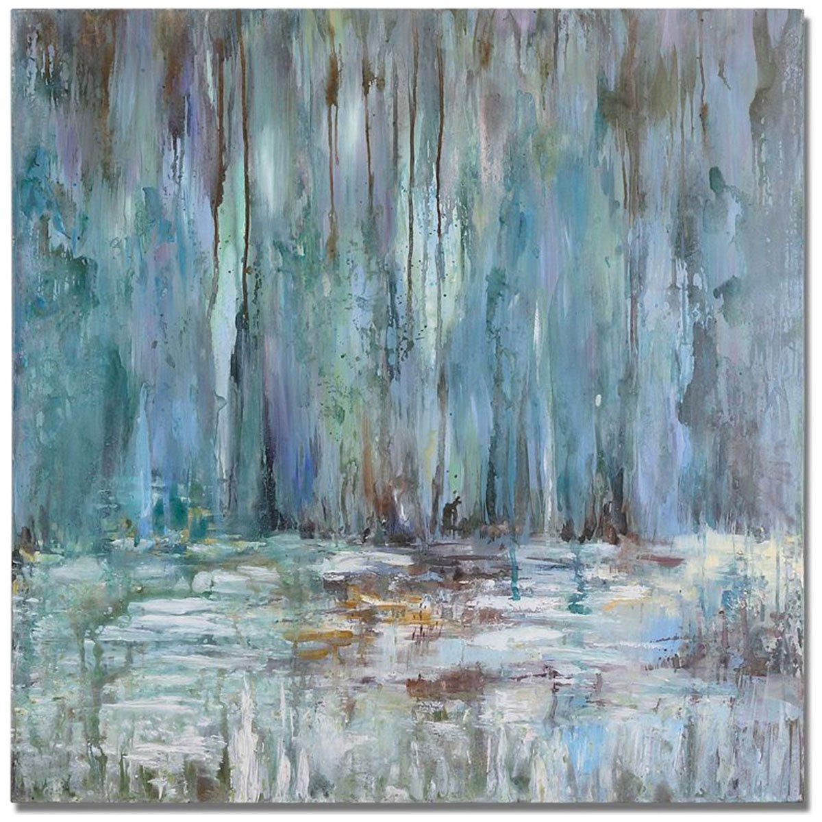 Uttermost 32240 Waterfall Art, Blue