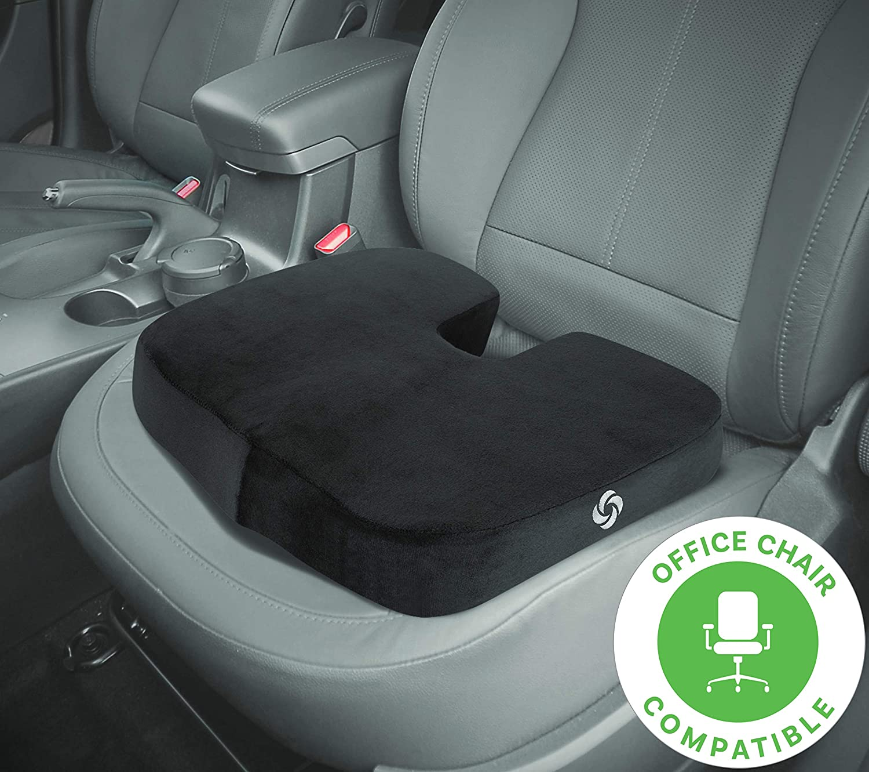 Samsonite SA5454 Ergonomic Soft Seat Cushion with 100/% Pure Memory Foam