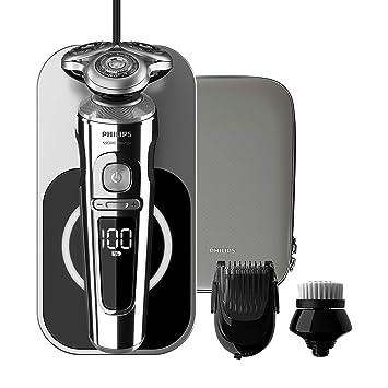 Philips SP9863 14 Rasoir électrique Series 9000 Prestige avec plateau de  charge Qi, Brosse 8a7b90d032e7