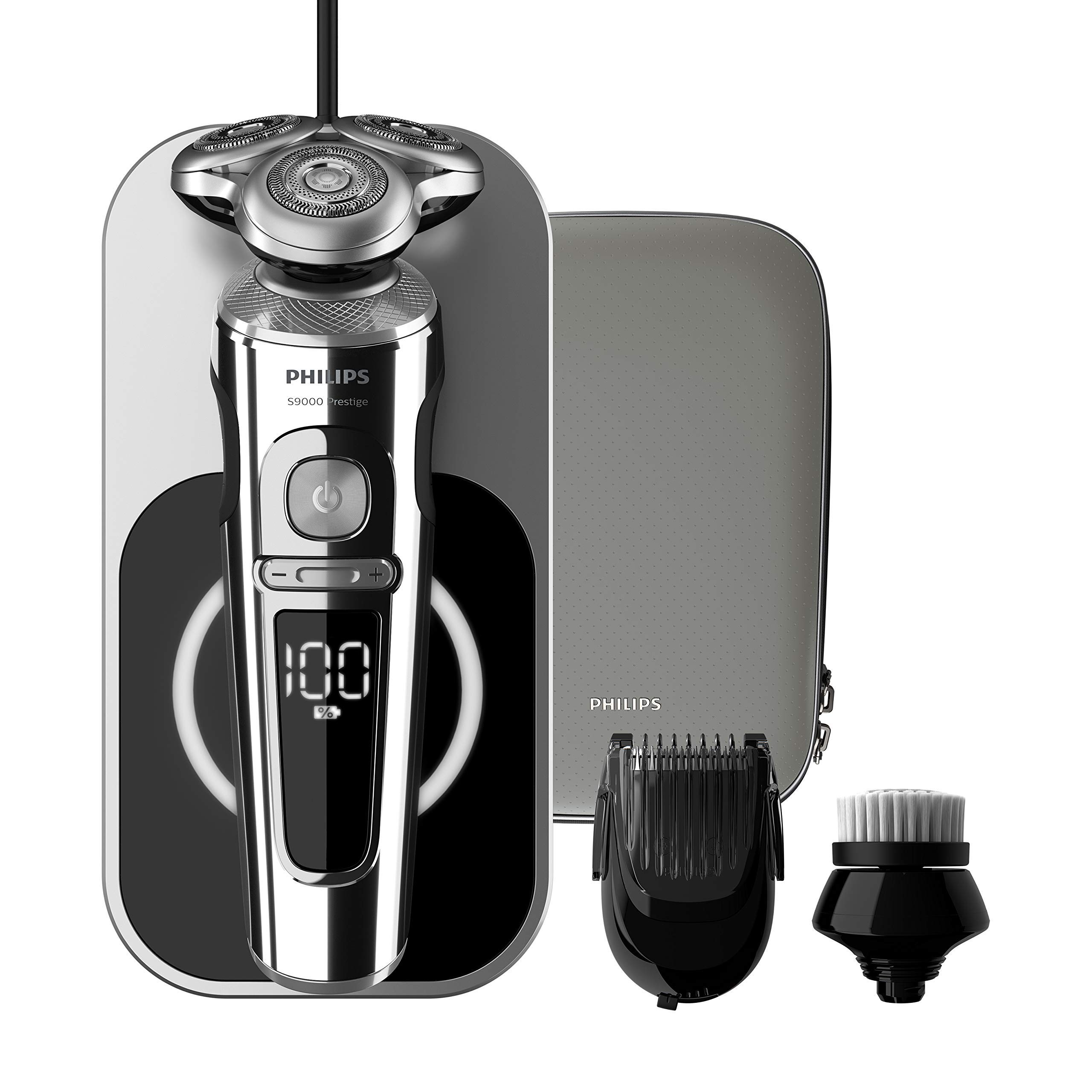 Philips Serie Prestige SP9863 14 - Afeitadora Eléctrica para Hombre  Rotativa 13043a49916a