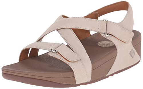 Fitflop The Skinny Sandal, Sandalias con Plataforma para Mujer, Rosa (Stone), 36 EU FitFlop
