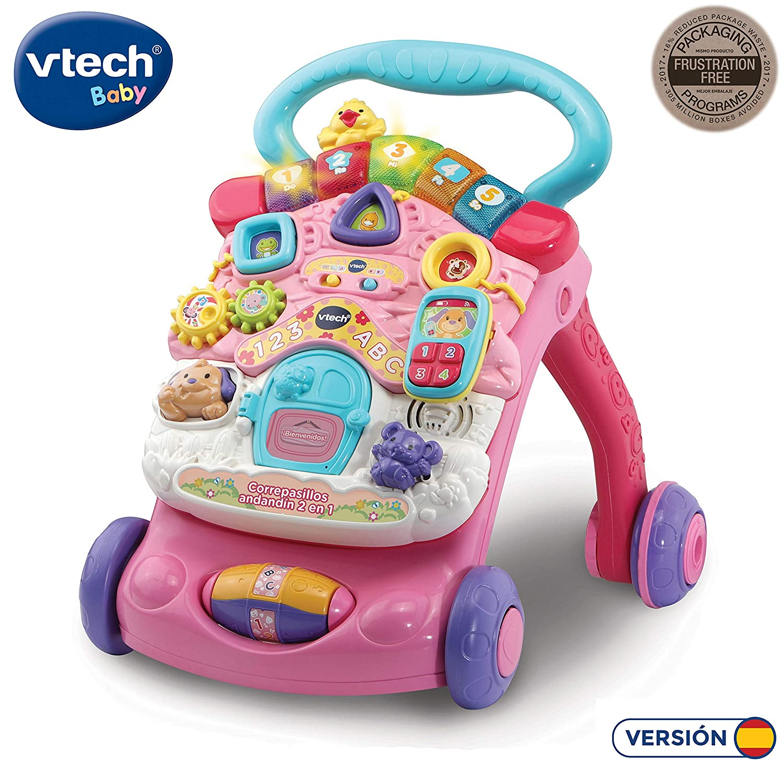 Vtech- Correpasillos Andandín 2 en 1, Diseño Mejorado, Plegable y ...