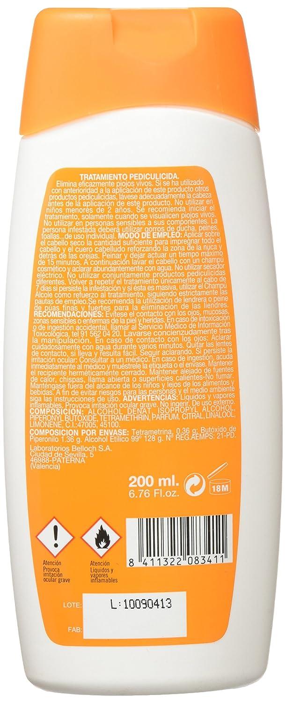 Al Cole Locion Pediculicida, Elimina Piojos Con Piretrina - 200 ml: Amazon.es: Amazon Pantry