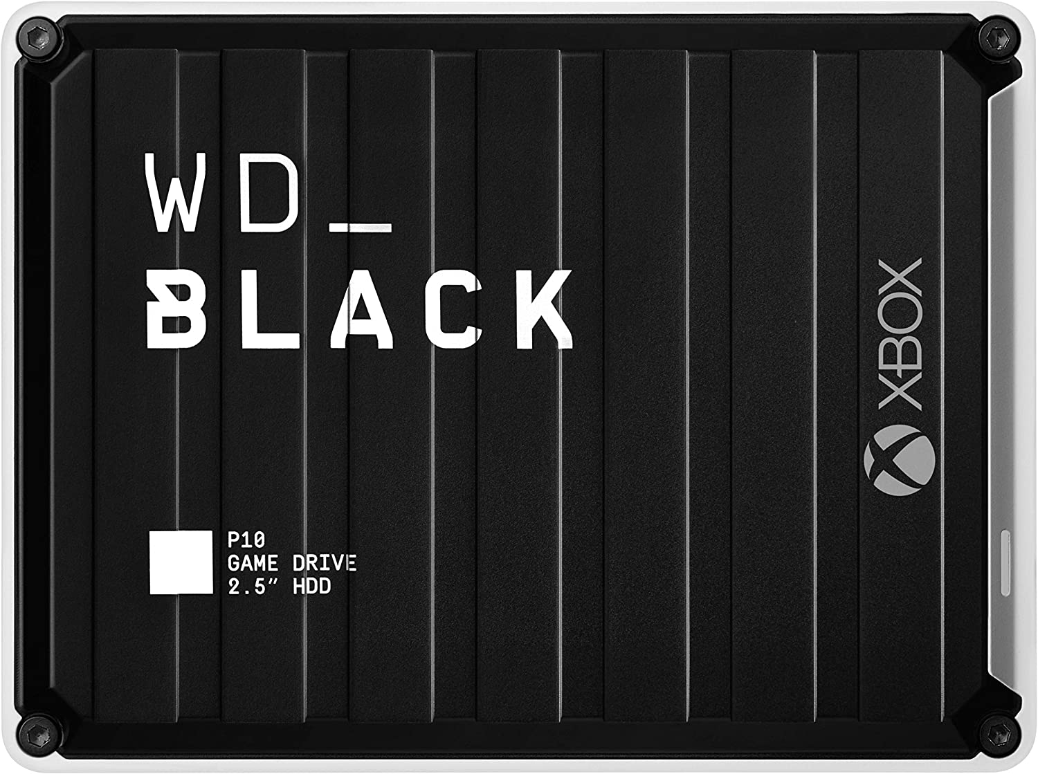 WD_Black 5TB P10 Game Drive for Xbox One, Portable External Hard Drive with 2-Month Xbox Game Pass - WDBA5G0050BBK-WESN: Computers & Accessories
