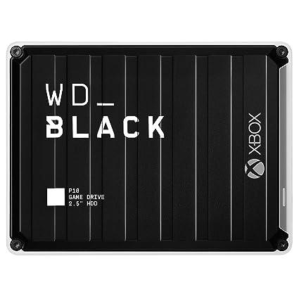 WD Black P10 - Game Drive de 5 TB para Acceder en Cualquier Momento a tu Biblioteca de Juegos de Xbox