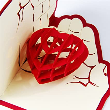Dreamen Fathers Day Card From Wife Daughter Or Son Paper Craft 3D Greeting For Husband