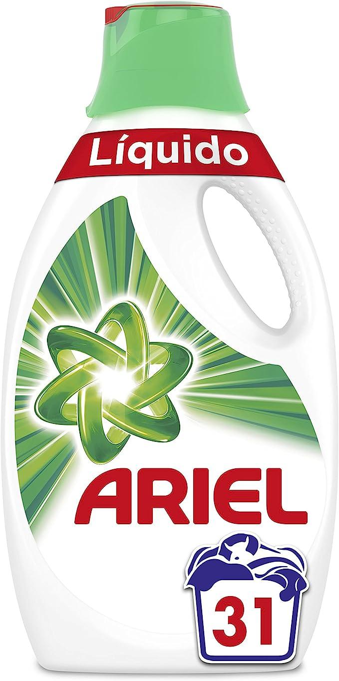 Ariel Original Detergente Líquido, Elimina Las Manchas A La ...