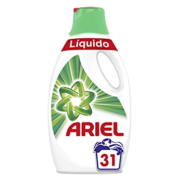 Ariel Original - Detergente Líquido 1.705 l, 31 Lavados