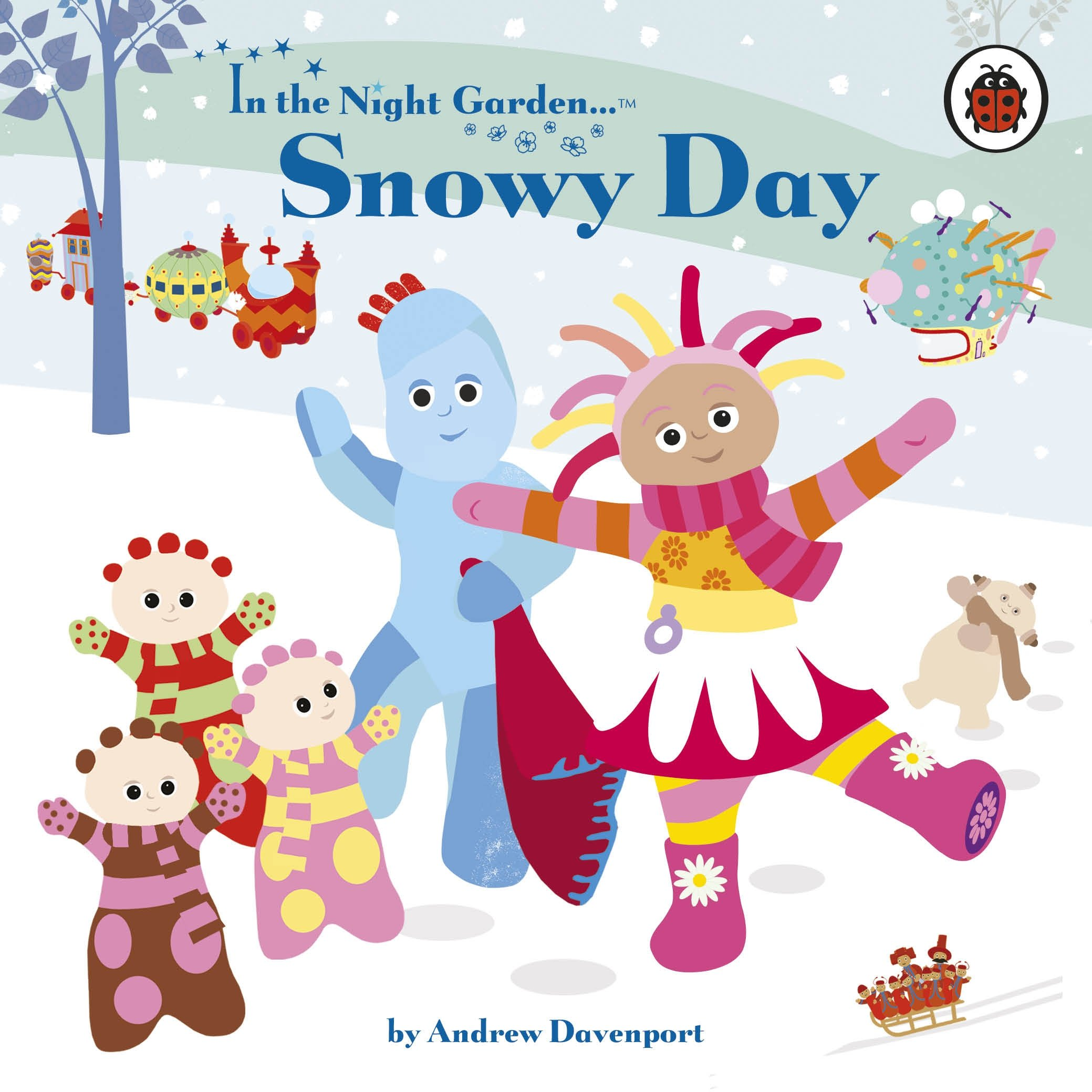 snowy day in the night garden andrew davenport 9781405908191