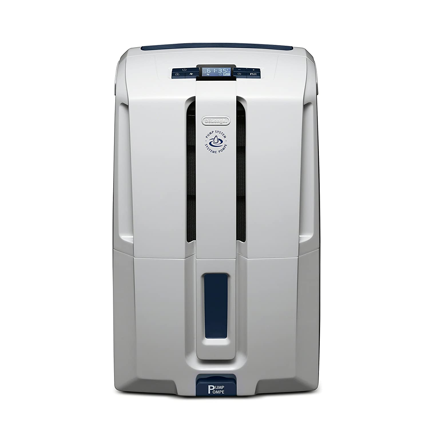 DeLonghi Energy Star 45 Pint Dehumidifier with AAFA Certification White