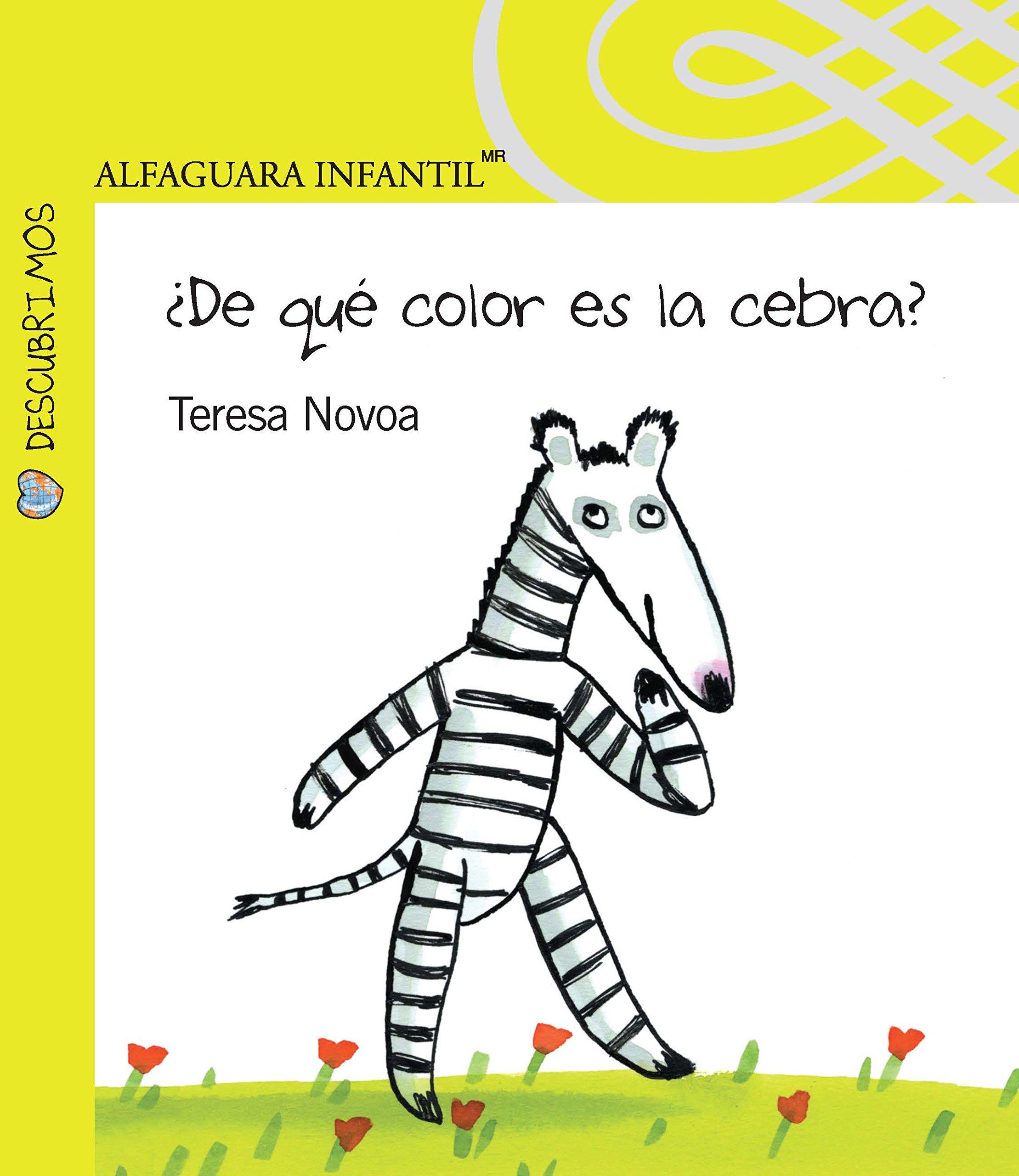 De que color es la cebra?: Teresa Novoa: Amazon.com.mx: Libros