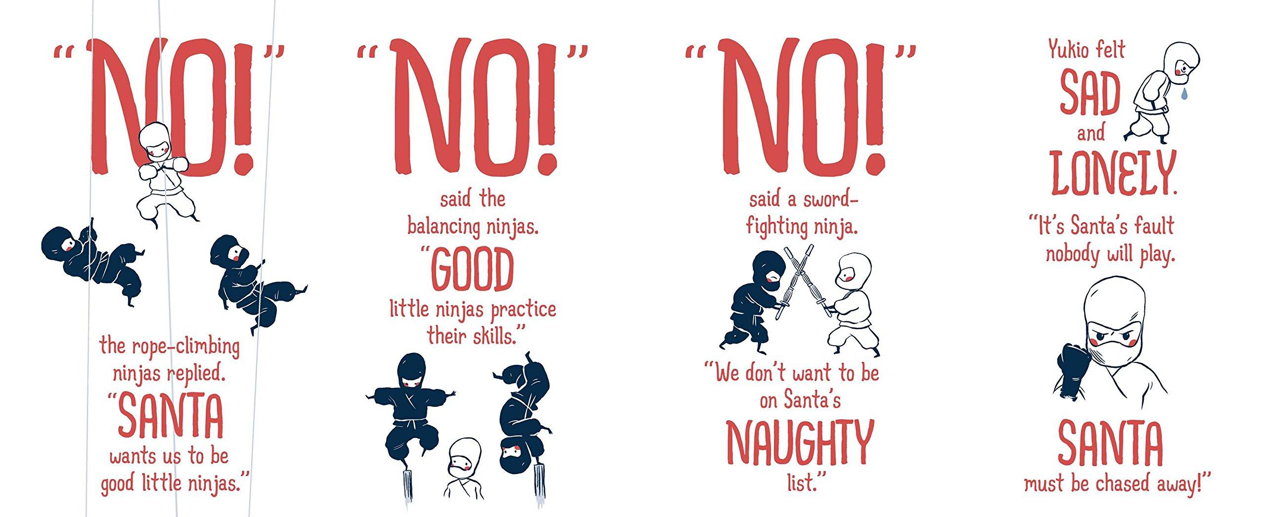 Samurai Santa: A Very Ninja Christmas: Rubin Pingk: 9781481430579 ...