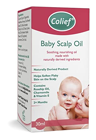 1c43dfcfb Colief Baby Scalp Oil | Soothing Treatment of Dry Flaky Skin (Cradle ...