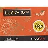 [way2go] ベトナム mobifone 4G/3G 15日間 データ通信SIMカード 10GB 通話付き[並行輸入品]