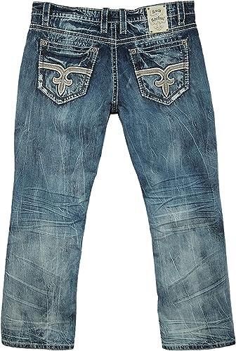 Amazon Com Rock Revival Jeans Para Hombre Shoes