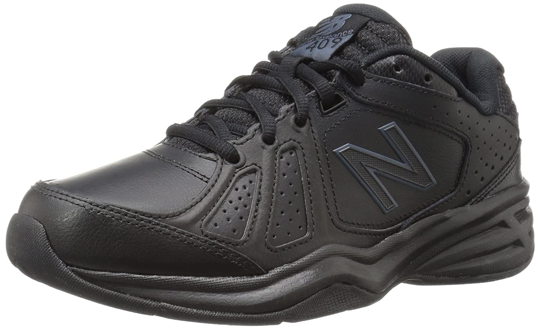 New Balance Women's WX409V3 Casual Comfort Training Shoe B01CQVT9LQ 8 B(M) US|Black