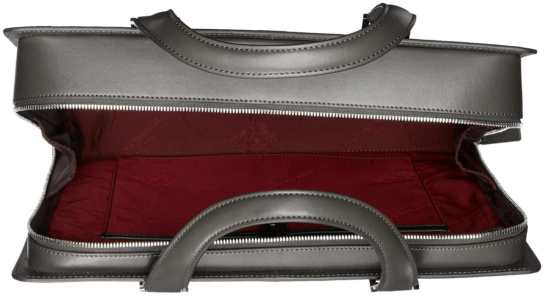 14dc47002d74 Amazon.com: Bruno Magli Men's Neoclassico Full Zip Briefcase, black ...