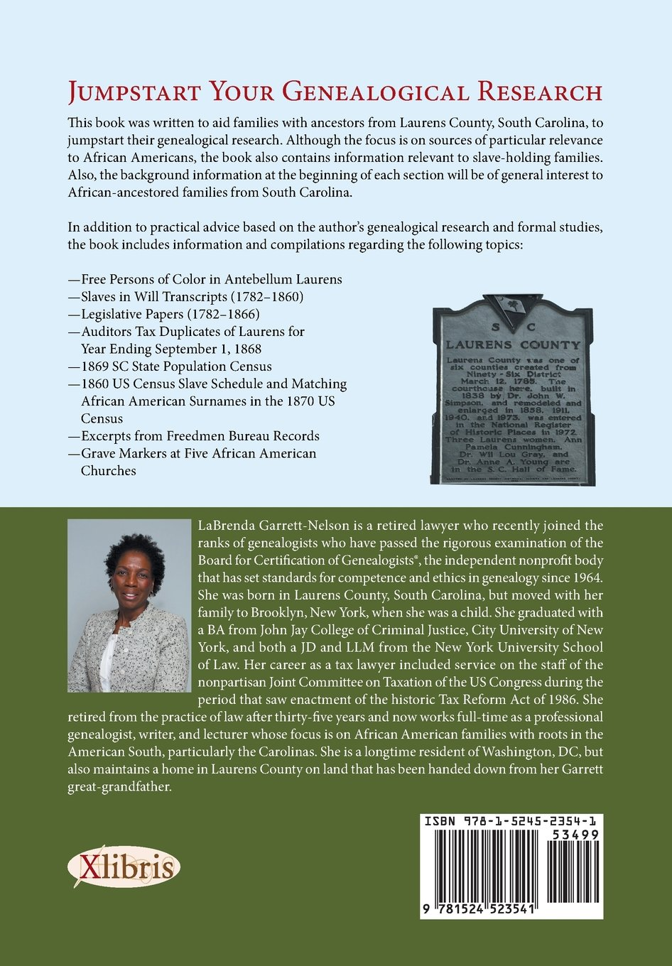 A Guide to Researching African American Ancestors in Laurens County ...
