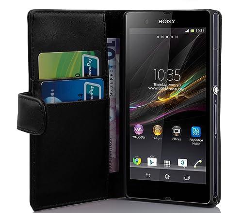Amazon.com: Cadorabo – Estilo Libro Design para Sony Xperia ...