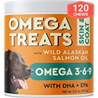 Pawfectchow Fish Oil Omega 3 for Dogs - Allergy Relief - Joint Health - Itch Relief...