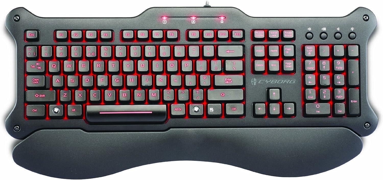Mad Catz V.5 Clavier Gaming pour PC - Noir mat