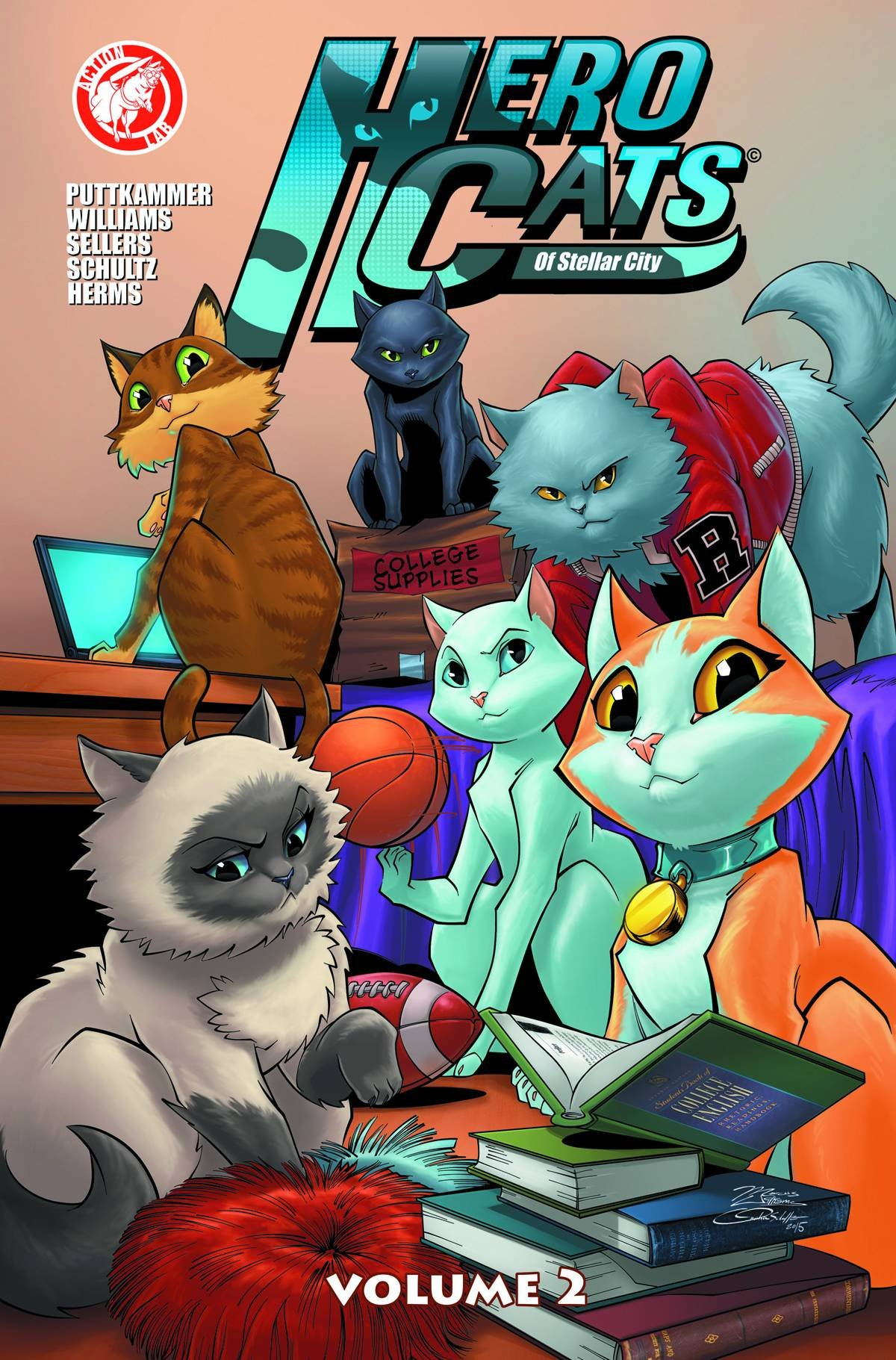 Hero Cats Volume 2 (Hero Cats of Stellar City) pdf