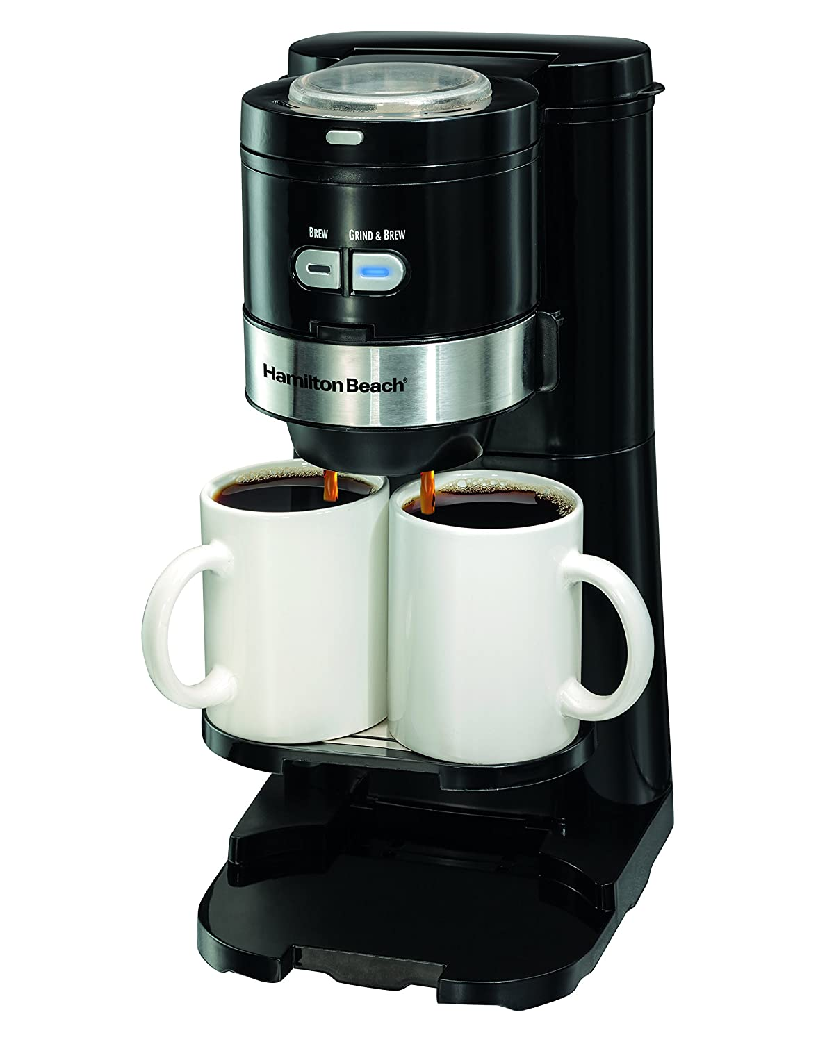 Amazon Hamilton Beach Coffee Maker Grind and Brew Single Serve