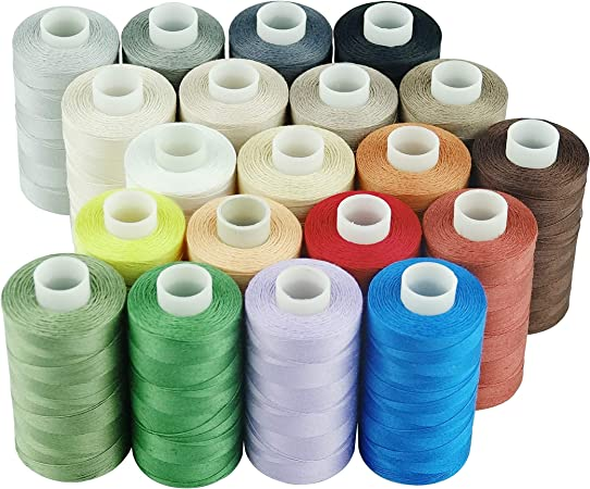 For Hand// Machines New High Quality 1 X White 100m Sewing Cotton Thread