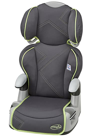 Amazon.com : Evenflo Big Kid AMP High Back Car Seat Booster, Green Angles (Discontinued by Manufacturer) : Child Safety Booster Car Seats : Baby